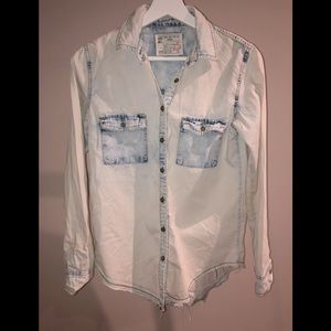 Garage Acid Wash Denim Shirt